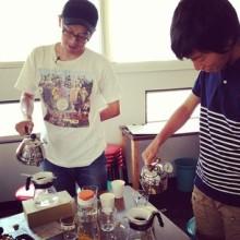 喫茶スロース コーヒー教室 フレンチプレス