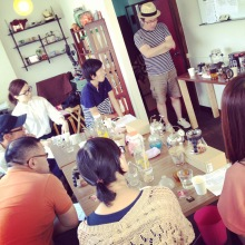 喫茶スロース コーヒー教室 ハリオ