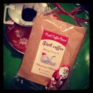 喫茶スロース クリスマスブレンド