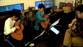 喫茶スロース こどものクラシックギター教室