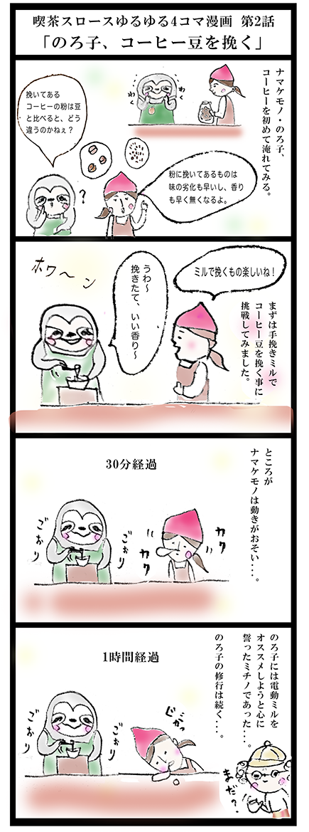 4コマ漫画2話完成版100