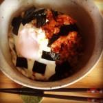 喫茶スロース キムチ納豆丼