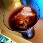喫茶スロース 氷だしアイスコーヒー