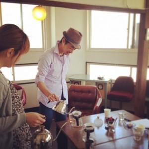 喫茶スロースコーヒー教室